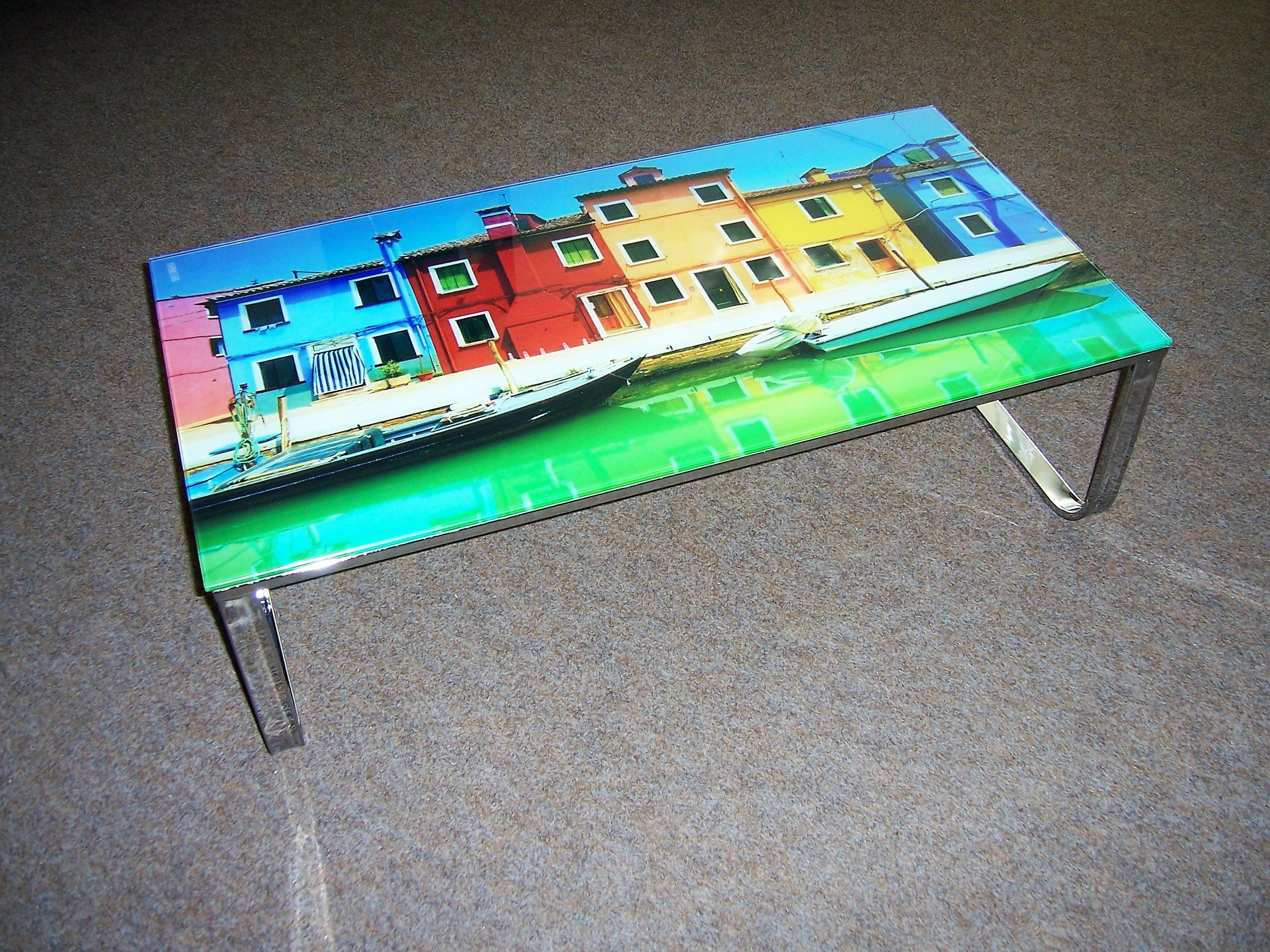 tisch couchtisch glas 105x55 cm typ mono 84152 motiv. Black Bedroom Furniture Sets. Home Design Ideas