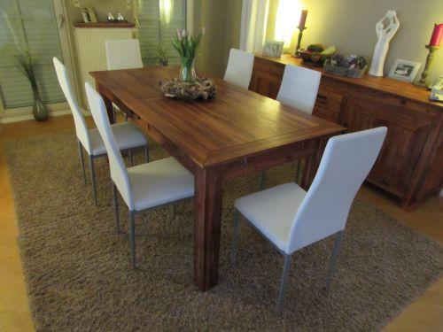 stuhl esszimmerstuhl pegasus st hle 6 er set kunstleder weiss neu ebay. Black Bedroom Furniture Sets. Home Design Ideas